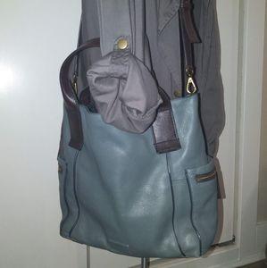 Fossil Emerson pebble leather shoulder bag
